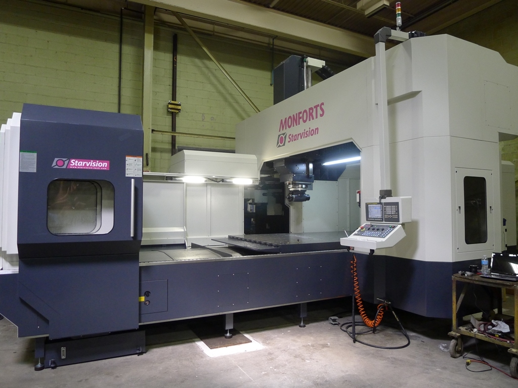 Monforts-Starvision CNC Double Column Machining Center