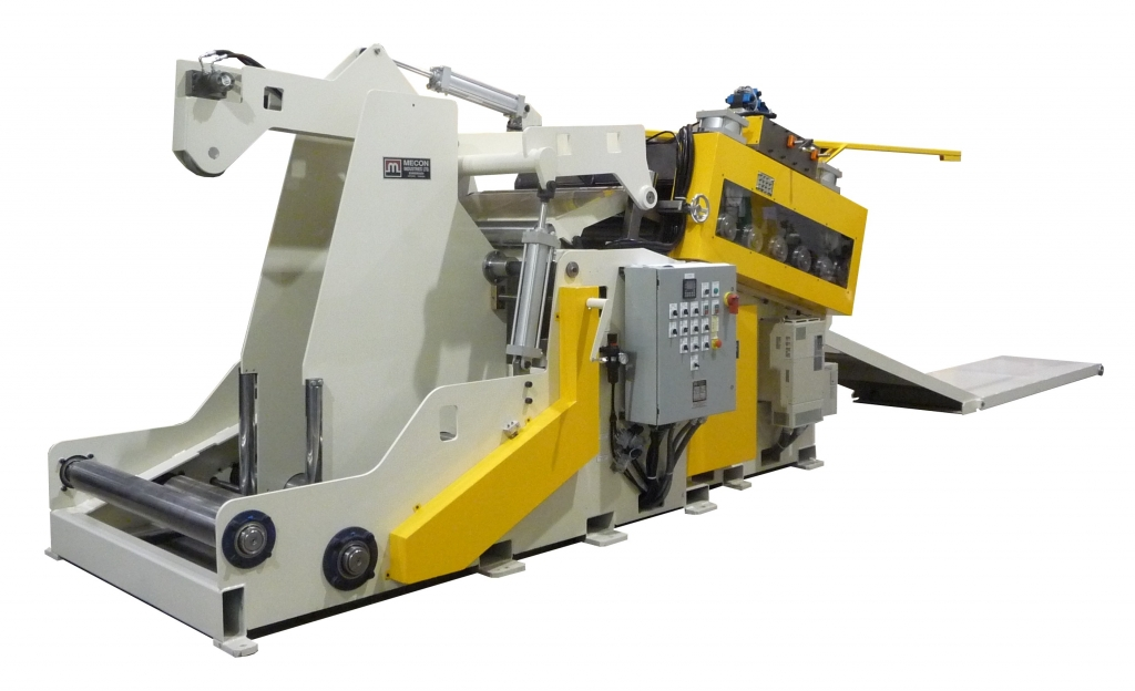 400CCS48-8HD - 40,000lbs. Cradle with Straightener and threading table