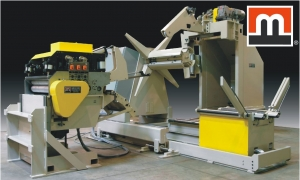 UNCOILER - REEL WITH SIDE SHIFT BASE, COIL CAR,HEAVY DUTY THREADING