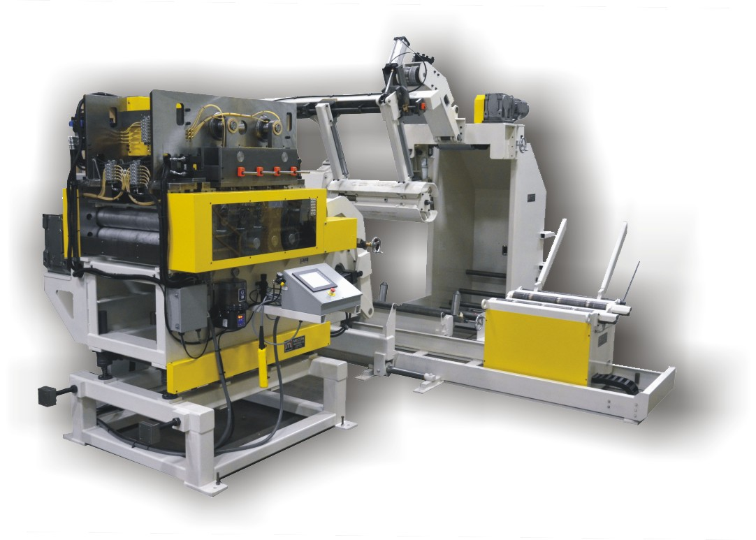 Uncoiler system compact line