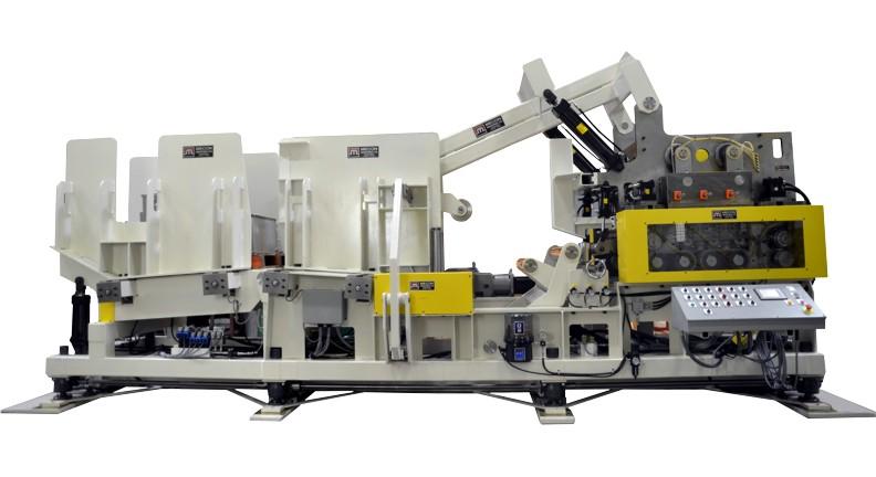 Uncoiler for HSLA steel