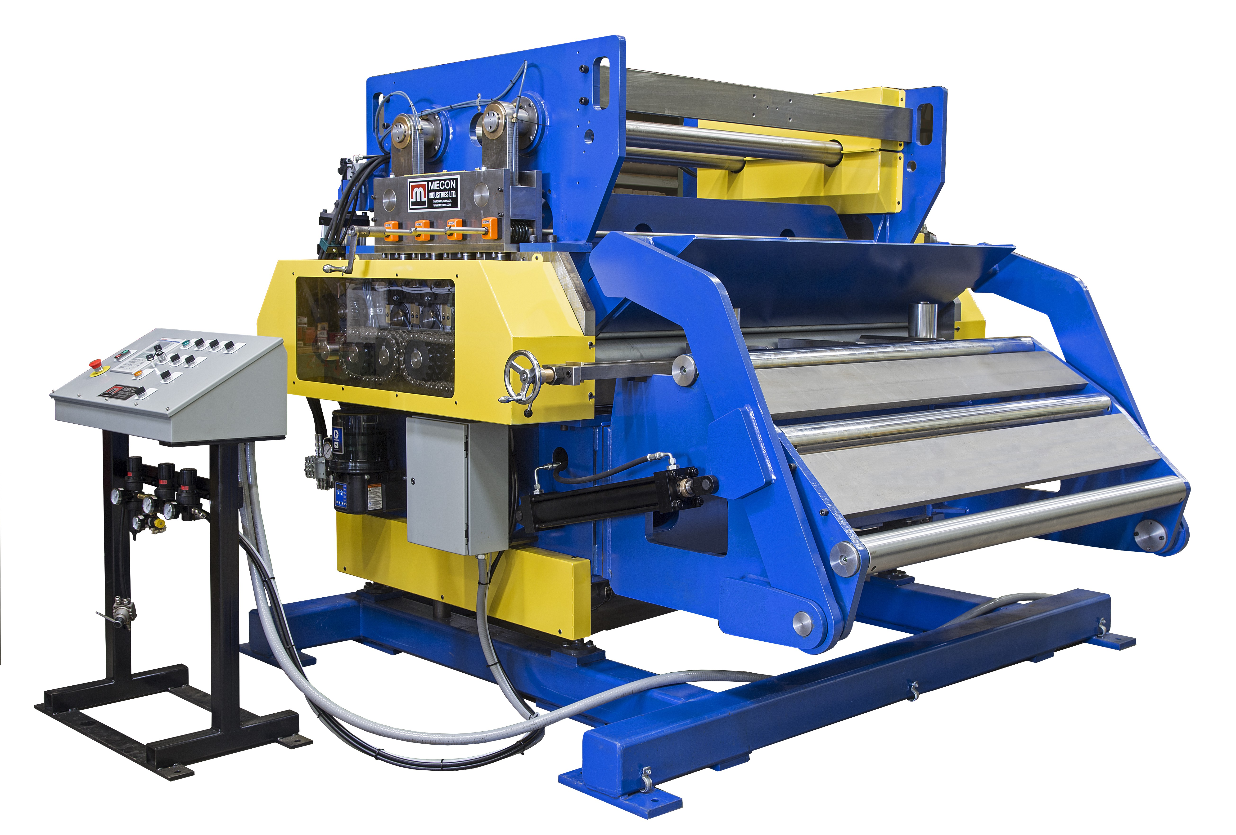 Servo feeder straightener