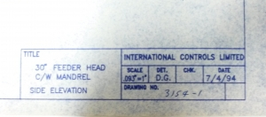 International Controls Uncoiler Systems 3154