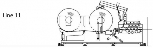 Uncoiler machine type 11