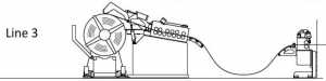 Uncoiler machine type 3