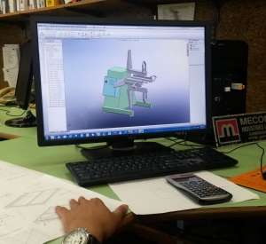 Designing coil handling equipment